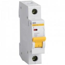 Автоматический выключатель IEK ВА 1п С 6А