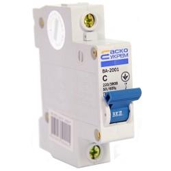 Автоматический выключатель ВА 2001 1п 50А С