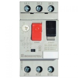 Автомат защиты двигателя ВА 2005 М07 1,6-2,5А