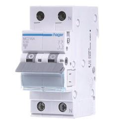 Автоматический выключатель МС 216 16А 2п С 6кА
