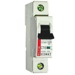 Автоматический выключатель ЕСОМАТ С 1p 16А