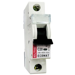 Автоматический выключатель ЕСОМАТ С 1p 20А