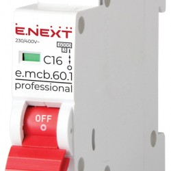 Автоматический выключатель e.mcb.pro.60.1.C16 1п 16А С