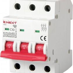 Автоматический выключатель e.mcb.pro.60.3.C10 3п 10А С