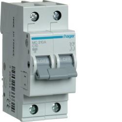 Автоматический выключатель МС 210 10А 2п, С, 6кА