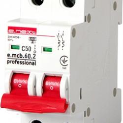 Автоматический выключатель e.mcb.pro.60.2.C 50 2п 50А С