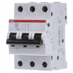 Автоматический выключатель ABB 3-п S203-C 63A 6kA