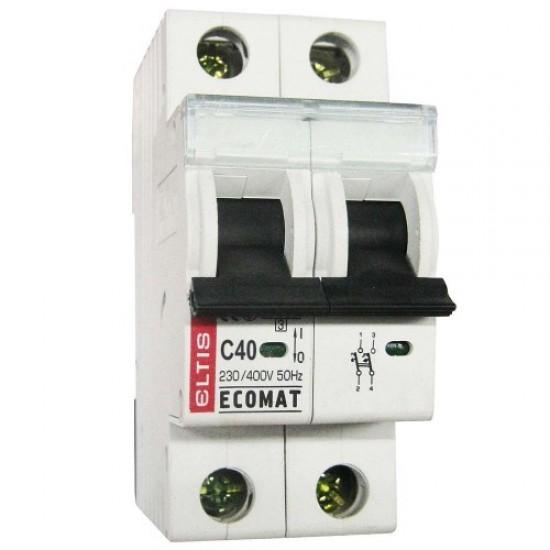 Автоматический выключатель ЕСОМАТ С 2p 40А