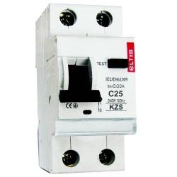 Дифференциальный автомат KZS-E 25/0,03 С 6kA