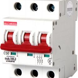 Автоматический выключатель e.industrial.mcb.100.3.C50, 3p, 50А, C, 10кА