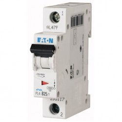 Автоматический выключатель Eaton (Moeller) PL4-C63/1 (293130)