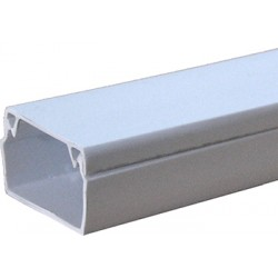 Короб пластиковый e.trunking.stand.25.25, 25х25 мм, 2м (80м.п./уп)
