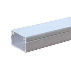 Короб пластиковый e.trunking.stand.40.40, 40х40 мм, 2м (12м.п./уп)