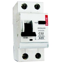 Дифференциальный автомат KZS-E 32/0,03 С 6kA