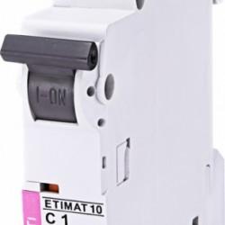 Авт. вимикач ETIMAT 10 1p C 1A (10kA) 2131704