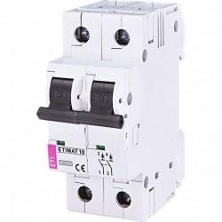 Авт. вимикач ETIMAT 10 2p C 1A (10kA) 2133704