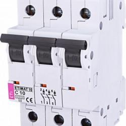 Авт. вимикач ETIMAT 10 3p C 10А (10kA) 2135714