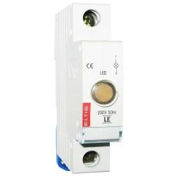 Лампа сигнальна LE (зел.) 64423
