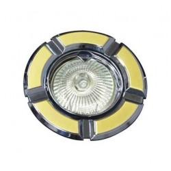 Светильник точечный поворотный Feron 098 R-50 золото-хром