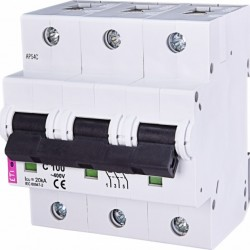 Авт. вимикач ETIMAT 10 3p C 100А (20kA) 2135732