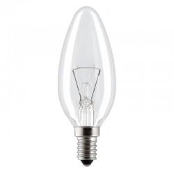 Лампа накаливания Philips B35 E27 40W (прозрачная)
