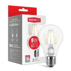 Лампа A60 FM 8W 4100K E27 220V 1-LED-566