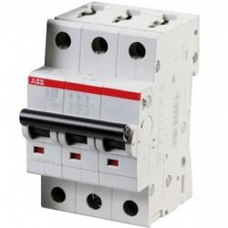 Автоматический выключатель ABB 3-п S203-C 50A 6kA