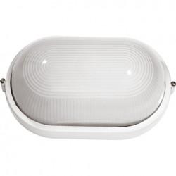 Светильник банник Sokol LED-WPE 10W aluminium 1000Lm 6500K IP44 (овал)