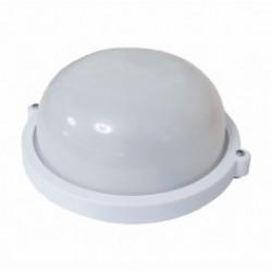 Светильник банник Sokol LED-WPR 10W aluminium 1000Lm 6500K IP44 (круг)