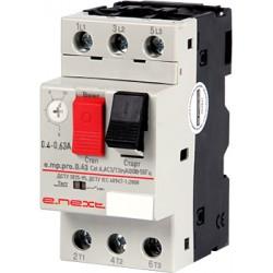 Автоматический выключатель защиты двигателя 0,4-0,63A