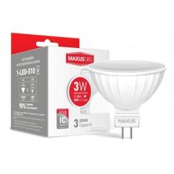 Лампа MR16 3W 4100K GU5.3 220V 1-LED-510