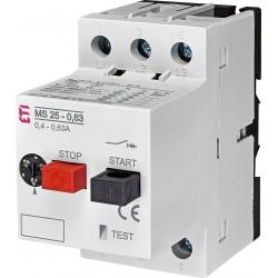 Автомати захисту двигуна MS25-0.63