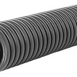 Труба гофрированная двустенная черная e.kor.tube.black.110.95, 110/95 мм (50м)
