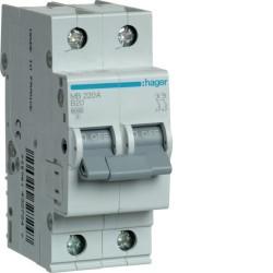 Автоматический выключатель Hager MB220A 2P 20A B 6kA