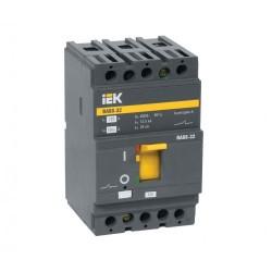 Силовой автоматический выключатель IEK ВА 88-32 3п 125А