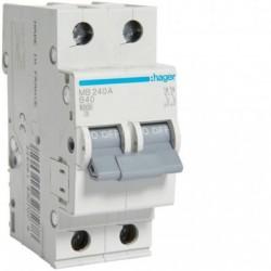 Автоматический выключатель МB 240 40А 2п, B, 6кА