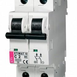 Авт. вимикач ETIMAT 10 2p DC 2A (6kA) 2138708