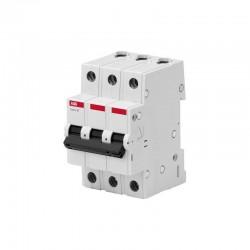 Автоматический выключатель ABB basic M BMS413 C40 3P 40А тип C 4,5кА