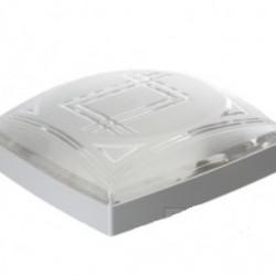 Светильник пластиковый Модерна белый 2х60W