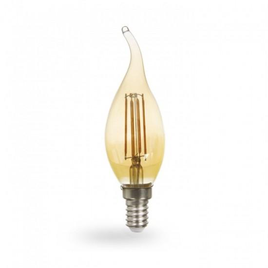 LВ-59 Лампа  4w E14 CF37 400Lm 2700K