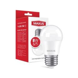 Лампа G45 E27 8W 220V 4100К 1-LED-748