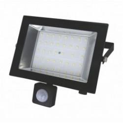 Прожектор LED-SLT 30W 6500K с датчиком движения