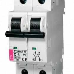 Авт. вимикач ETIMAT 10 2p DС 4A (6kA) 2138710