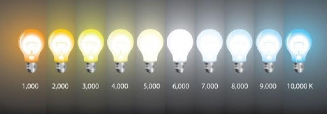 Как выбрать цветовую температуру?