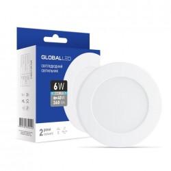 LED светильник GLOBAL SPN 6W 4100K яркий свет (1-SPN-004-С)