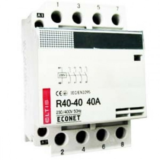 Контактор е/м R40-40 40A Econet 230B
