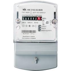 Счетчик электроэнергии НИК 2102-02 М2В однофазный однотарифный 5(60)А 220В