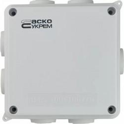 Коробка распределительная АСКО 100х100х70 белая IP65