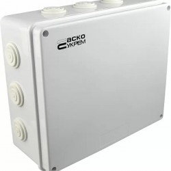 Коробка распределительная АСКО наружная 300х250х120 Белая IP65