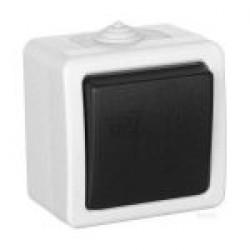 Выключатель Титан 1 клавишный влагозащищенный IP54